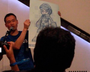 Keiji Inafune is Auctioning A Mighty No. 9 Sketch
