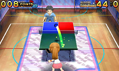 Family Table Tennis 3D is Available on the Nintendo E-Shop