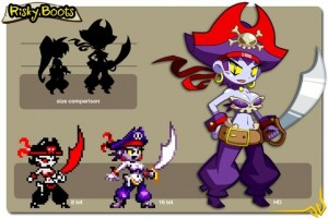 Risky Boots is Playable in New Shantae Game