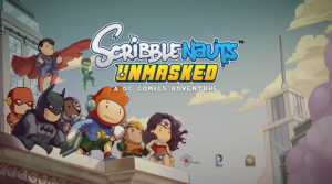 Scribblenauts Unmasked is Out Now
