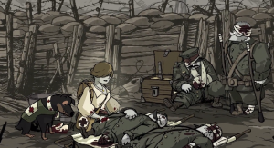 Valiant Hearts is About The Tragedies of War, and of Fellowship