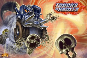 Trucks & Skulls is Basically Heavy Metal Angry Birds, but Even Angrier