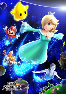 Rosalina and Luma are Confirmed for Super Smash Bros.