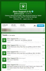 "Xbox Twitter Accounts ""Hacked"""