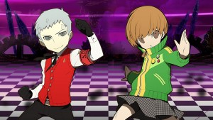 Persona Q Trailers for Akihiko and Chie
