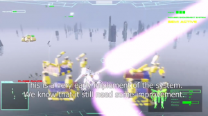 Why Yes, the Mechs in Project Nimbus have Beam Sabers