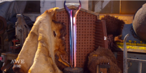 Blacksmith Forges Real Life Replica of the Energy Sword from Halo