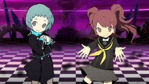 Here's Some Persona Q Character Trailers for Fuuka and Rise