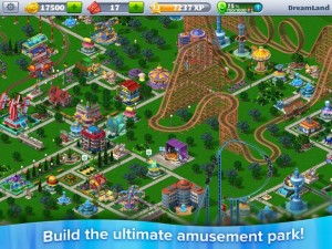 "Roller Coaster Tycoon 4 on PC is ""Completely Different"" from Mobile"