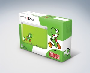 Yoshi Themed 3DS XL is Coming this Month