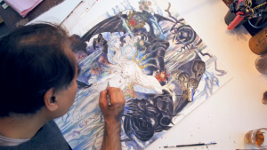 Watch the Famed Artist Yoshitaka Amano Draw Art for Child of Light