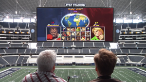 Conan O'Brien Plays Video Games on a 180 Foot Screen