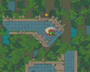 Frog Sord is Like Super Meat Boy Mixed with Dustforce