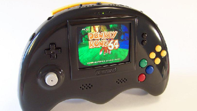 This Portable N64 is Pretty Sexy