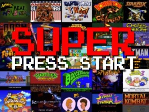 Watch Every Super Nintendo Start Menu in This Compilation Video