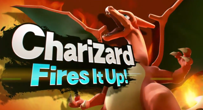 Charizard and Greninja are Confirmed for Super Smash Bros.