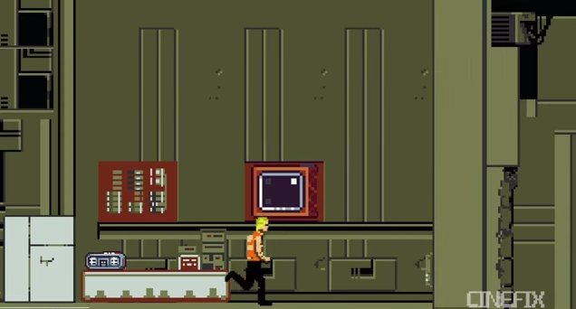 Check Out a 16-bit Rendition of The Fifth Element