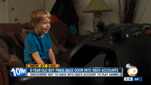 5-Year Old Manages to Expose Xbox Live Security Vulnerability