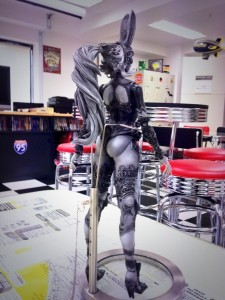 This Figurine of Fran from Final Fantasy XII has Eye-Popping Butt-plates