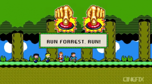 You've Never Seen Life Until You've Seen it Through Forrest Gump …. in 8-bit