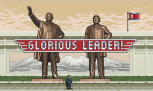 Kill Those American Capitalist Pig Dogs as Kim Jong Un in Glorious Leader