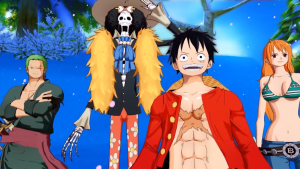 Check Out Trans Town in One Piece: Unlimited World Red