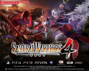 Samurai Warriors 4 is Battling West This Fall on PS3, Vita, and PS4