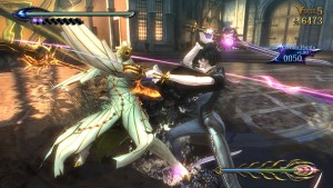Bayonetta 2 E3 2014 Gameplay Reveals Bayonetta's Flamethrower Boots, a Scythe Shotgun, and More