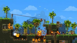 Broforce Vita E3 2014 Hands-on Preview