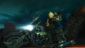 Final Fantasy VII G-Bike is a Mobile Version of the Motorcycle Mini-game from Final Fantasy VII