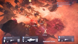 Helldivers E3 2014 Hands-on Preview
