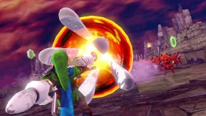 Check Out Link's Fire Rod in Hyrule Warriors