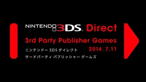 A Third Party Oriented 3DS Direct is Coming Tomorrow