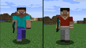 Minecraft's Steve is Losing Some Weight