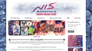 NIS America European Online Store is Now Available