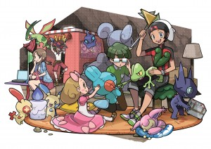 Secret Bases are Making a StreetPass Comeback in Pokemon Alpha Sapphire and Omega Ruby