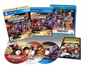 Samurai Warriors 4 is Getting a Special Anime Collector's Edition on PS4