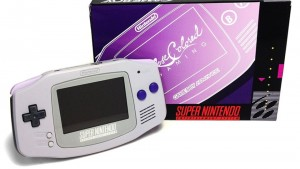 Get a SNES Throwback in this Re-Shelled SNES Themed Game Boy Advance