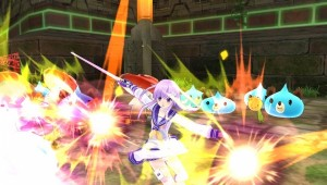 Witness the Costume Breaking of the Goddesses in Hyperdimension Neptunia U