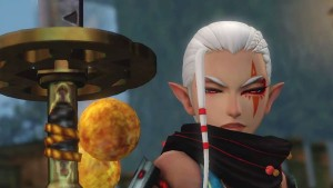 Impa from Hyrule Warriors Definitely Knows Her Way Around a Polearm