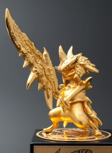 Capcom is Celebrating the 10 Year Anniversary for Monster Hunter with…. a 24K Gold Statue?!