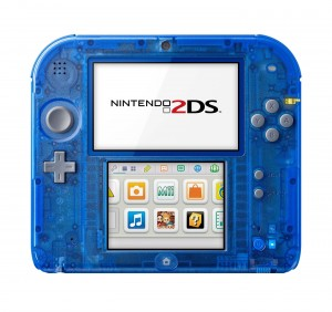 Those Transparent Nintendo 2DS Consoles are Coming to North America this Month