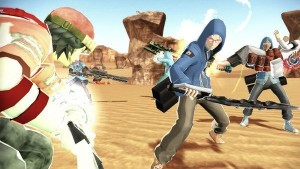 See How Players in Freedom Wars Duke it Out in PVP Combat