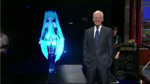 Watch Hatsune Miku Perform Live on David Letterman
