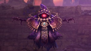 See the Villainous Wizzro from Hyrule Warriors in Action