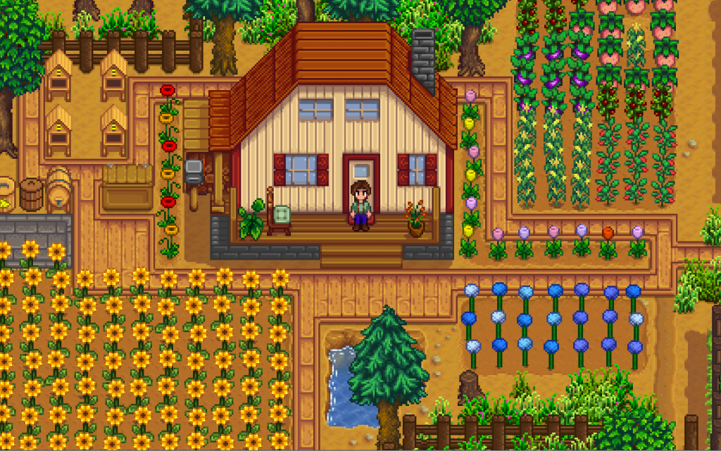 Stardew Valley Update Improves Married Life Fruit Trees More