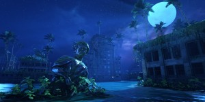 Survive the Beautiful Yet Depressing Aquatic Ruins of Submerged