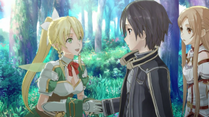 A Sizable Patch for Sword Art Online: Hollow Fragment is Available