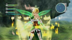 Here's the First in-Game Screenshots for Sword Art Online: Lost Song