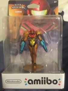 This Samus Amiibo Mistakenly Came with Double the Firepower